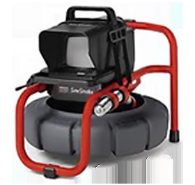video drain camera